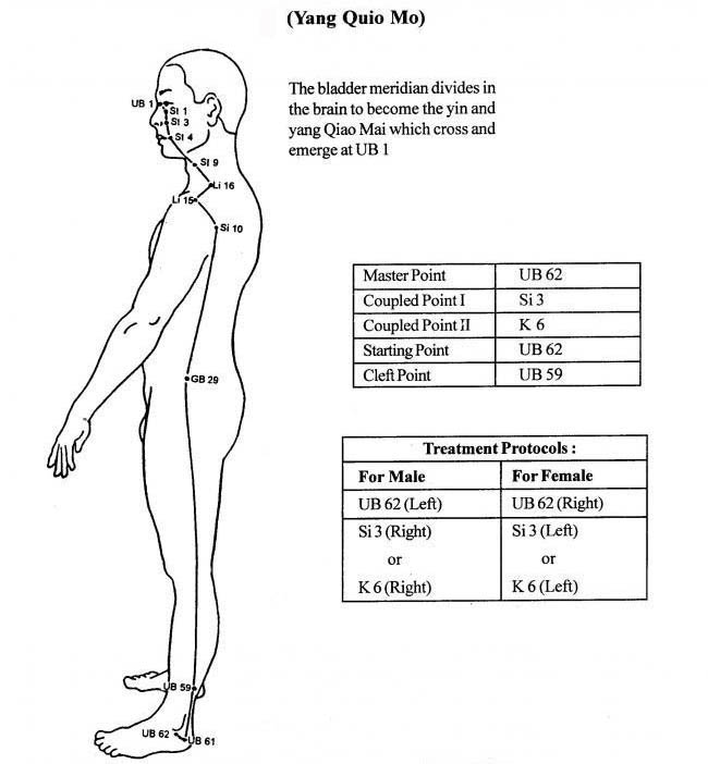 Extra Ordinary Vessels EOV : Acupressure Research, Training and